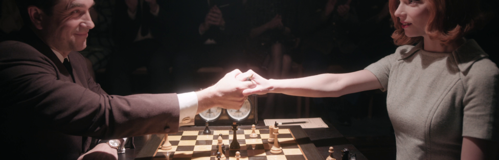 """64 Squares (Series Review: """"The Queen's Gambit"""")"""